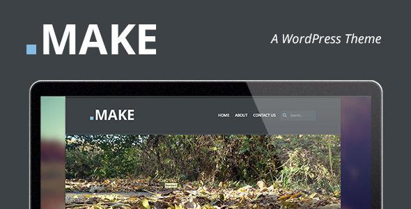 ThemeForest .Make A WordPress Theme 5001033