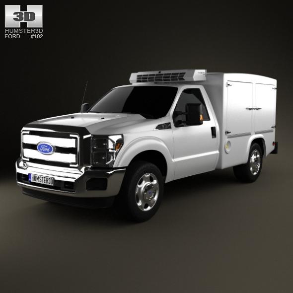 3DOcean Ford Super Duty 8 Series 2011 5001634