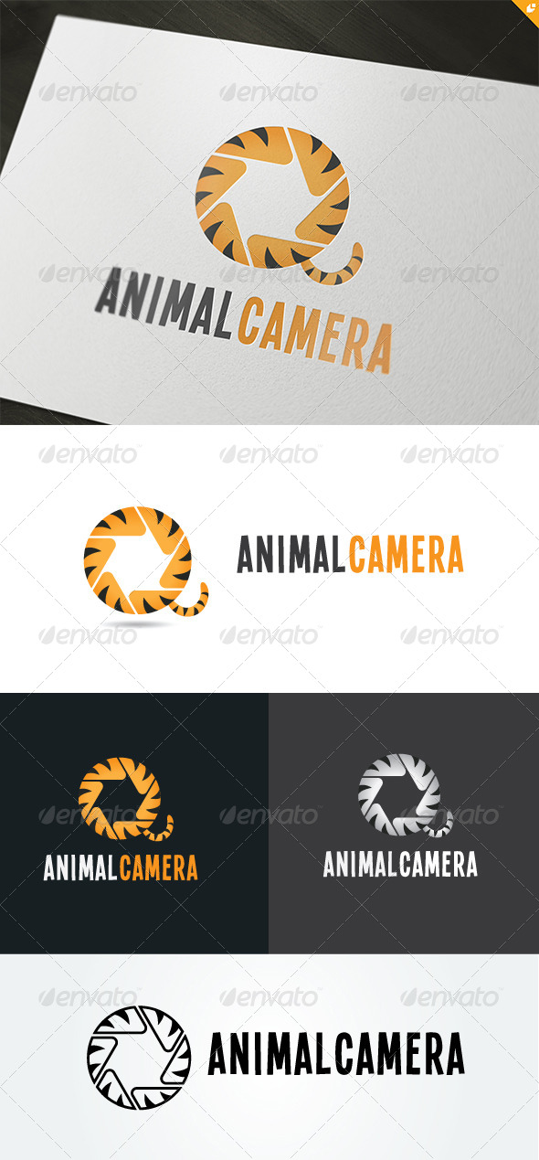 GraphicRiver Animal Camera Logo 5002241