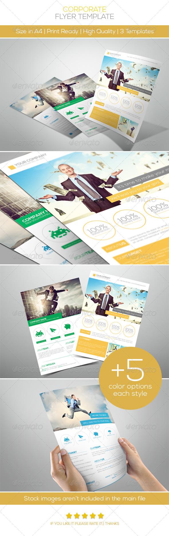 GraphicRiver Premium Corporate Flyers Vol.2 5002494