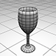 Drinking Glass Base Mesh - 3DOcean Item for Sale