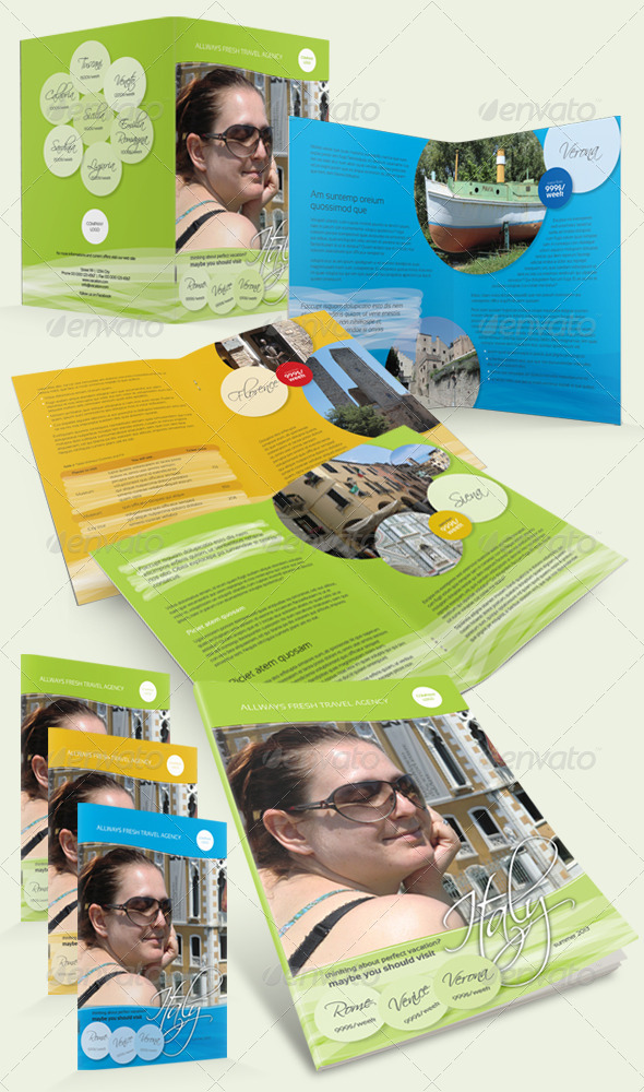 GraphicRiver Holiday Travel Brochure 4943902