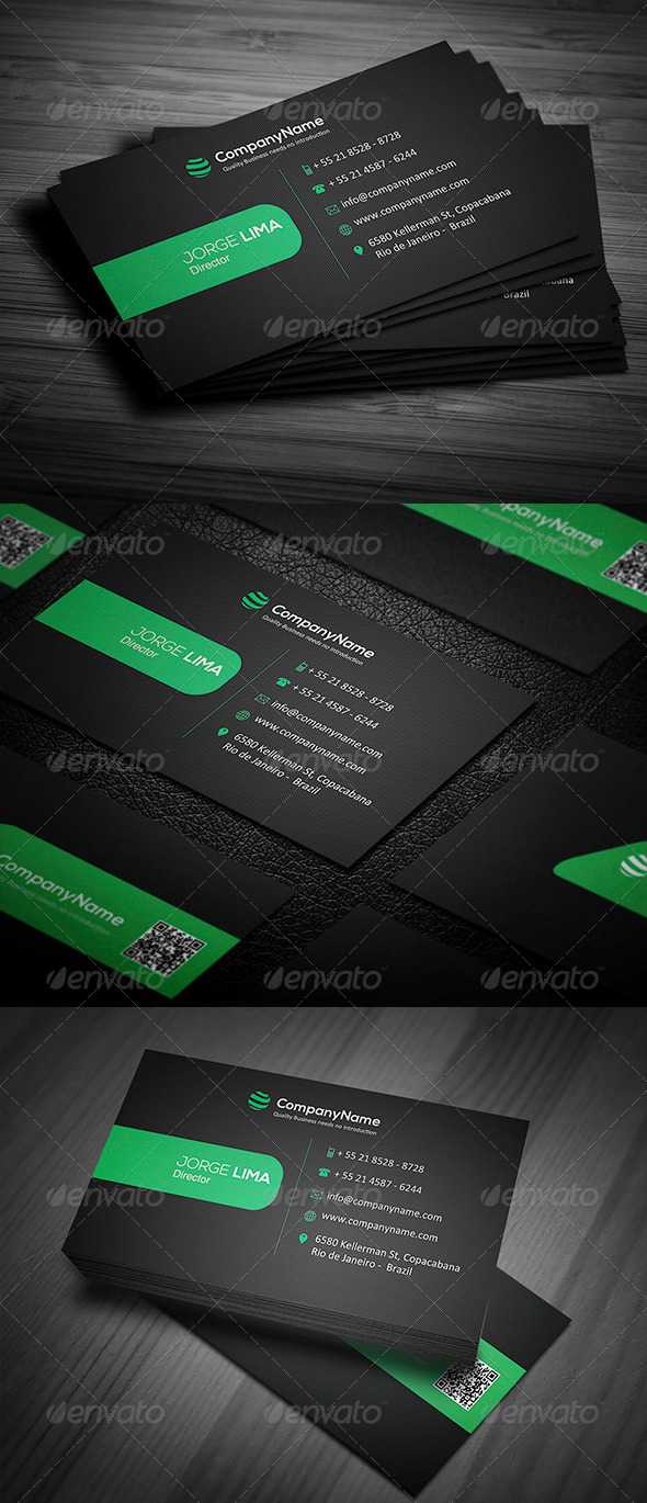 GraphicRiver Corporate Business card 007 5003667