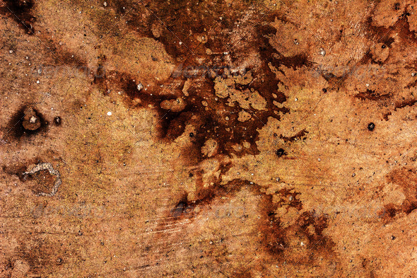 Concrete Stain - Stock Photo - Images