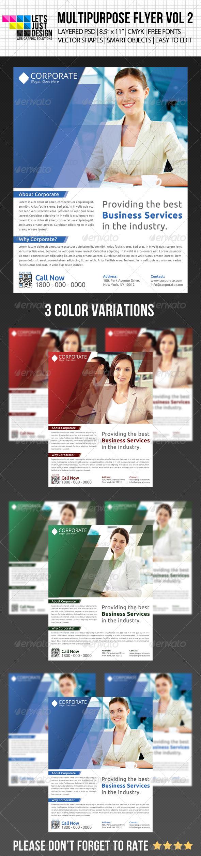 GraphicRiver Multipurpose Flyer Template Vol 2 5003854