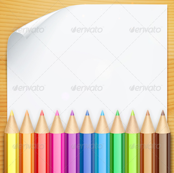 GraphicRiver Color Pencils 5004270