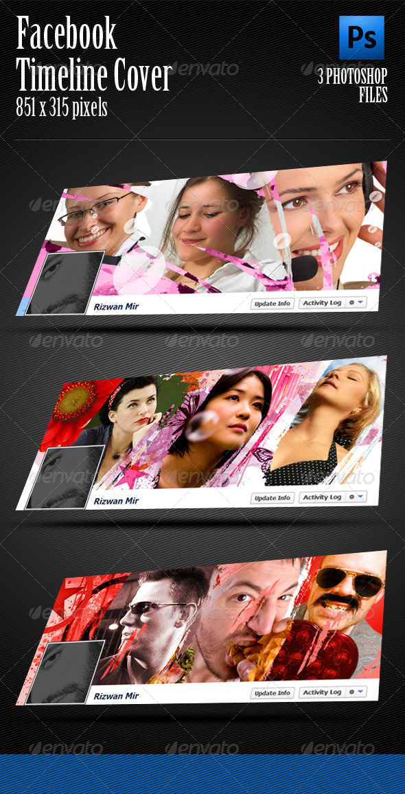 GraphicRiver Facebook Timeline Cover 4976280