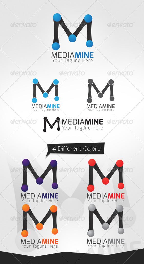 GraphicRiver MediaMine Logo Template 5004700
