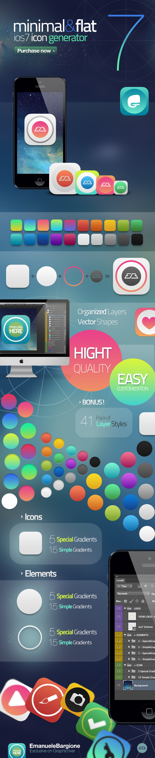 GraphicRiver iOS7 Icon Generator 5005554