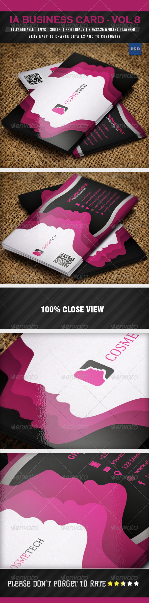 GraphicRiver IntenseArtisan Business Card Vol.8 5005560