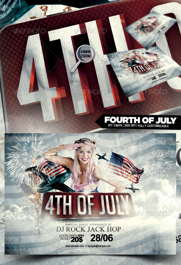 GraphicRiver Fourth of July 4857851