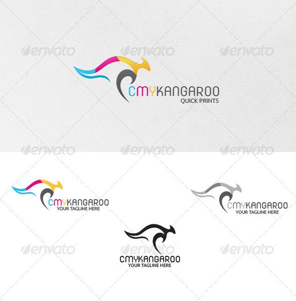 GraphicRiver CMY-Kangaroo Logo Template 5005904