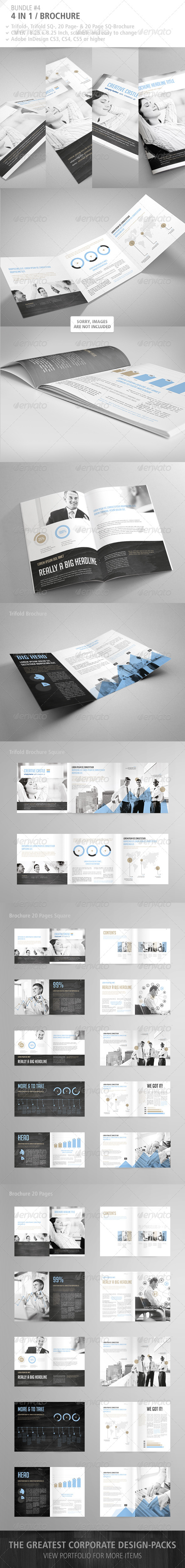 GraphicRiver Brochure Bundle #3 5006058