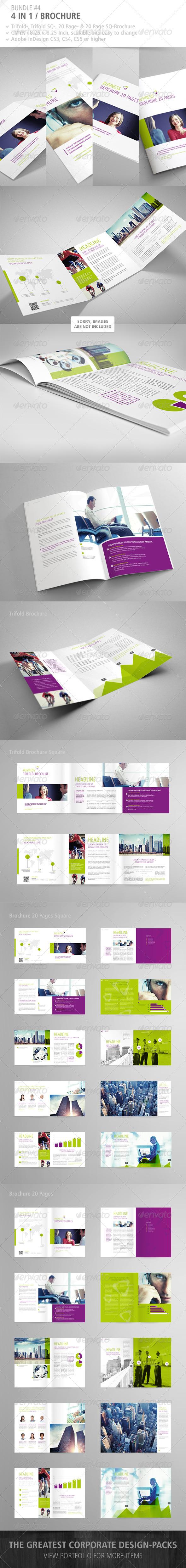 GraphicRiver Brochure Bundle #4 5006071
