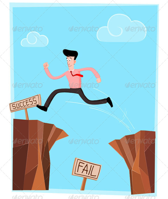 GraphicRiver Crossing the Cliff 5006086