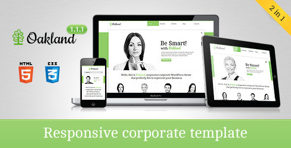 Oakland - Responsive Corporate HTML5 Template