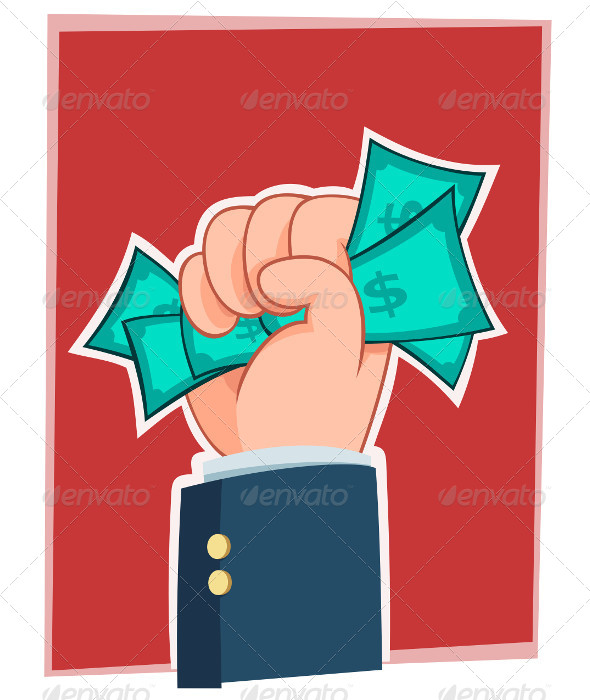GraphicRiver Hand full of Money 5006130