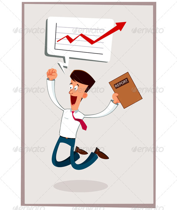 GraphicRiver Happy Businessman 5006132