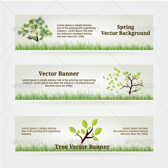 GraphicRiver Banners Set 5006136