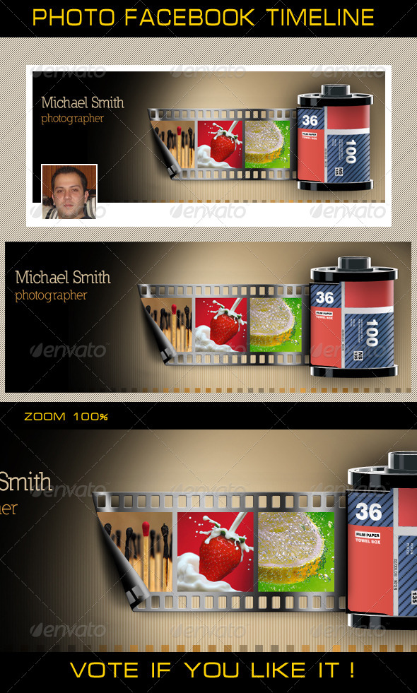 GraphicRiver Photo Facebook Timeline 5006147