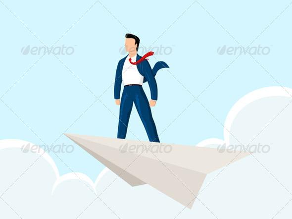 GraphicRiver Paper Plane 5006416