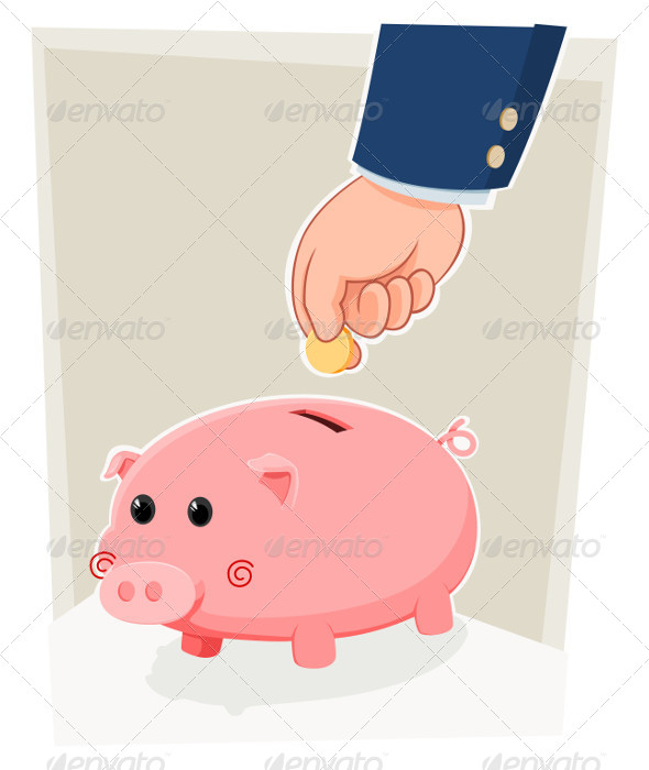GraphicRiver Piggy Bank 5006422
