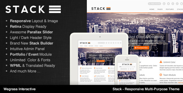 ThemeForest Stack Responsive Multi-Purpose Theme 5006452