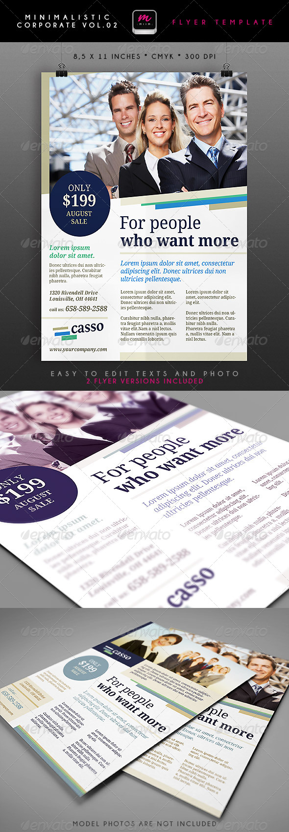 GraphicRiver Minimalistic Corporate Flyer 2 5006926