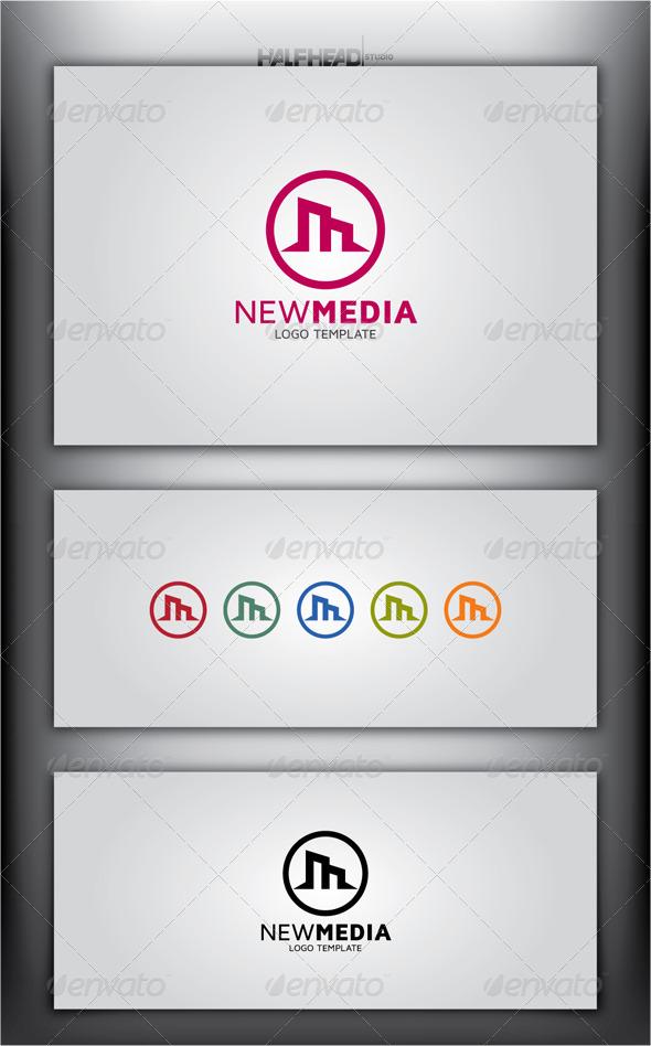 GraphicRiver New Media Logo Template 5007423