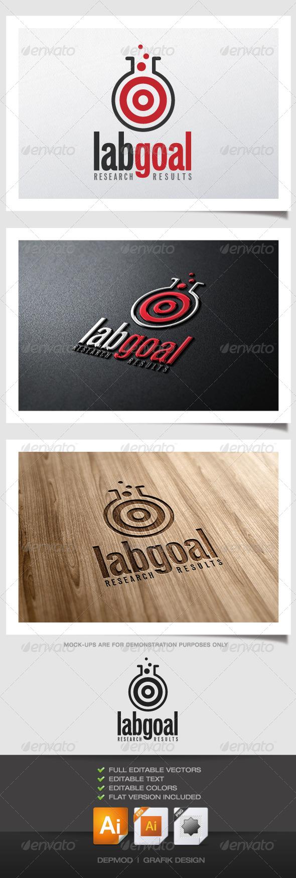 GraphicRiver Lab Goal Logo 5007922