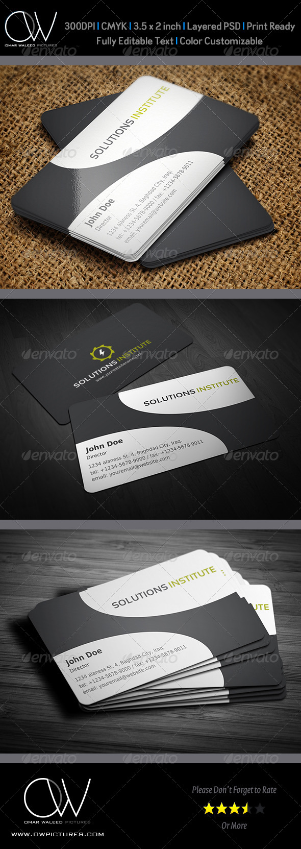 Corporate Business Card Vol.30 - Corporate Business Cards