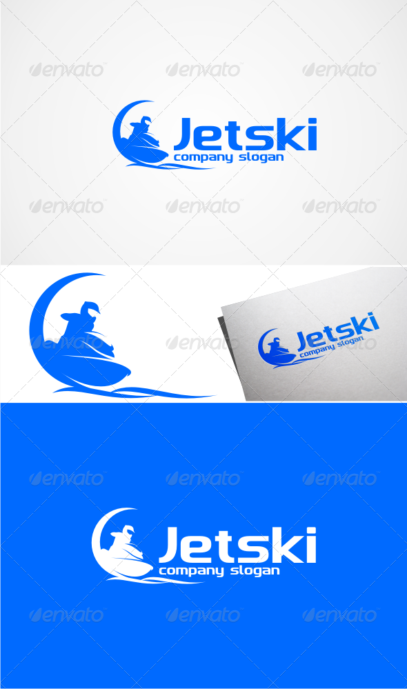 GraphicRiver Jetski Logo Templates 5008642