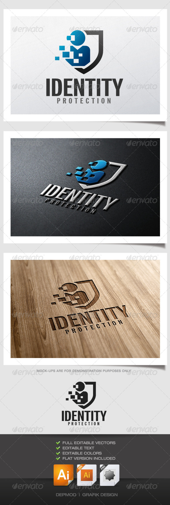 GraphicRiver Identity Protection Logo 5008750