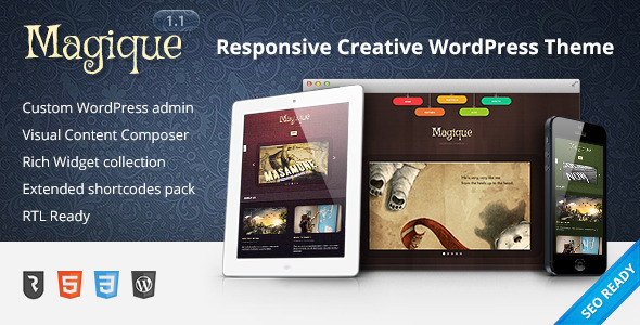 Magique - Ultimate Creative WordPress Theme