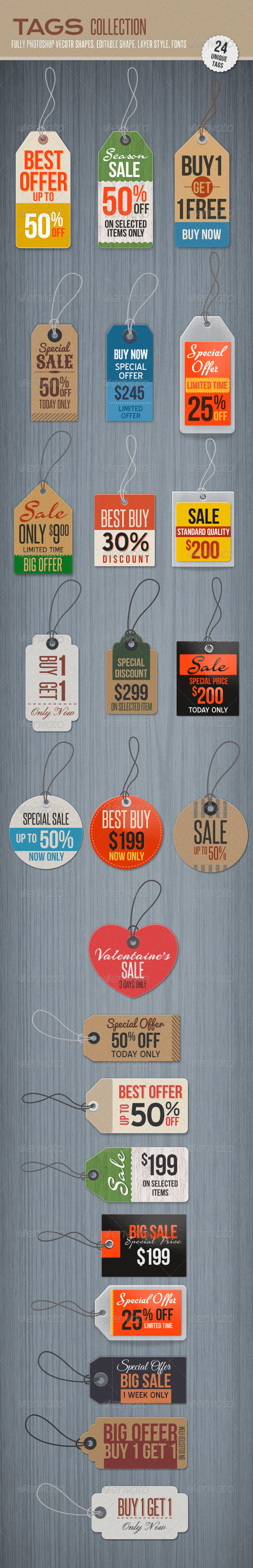 GraphicRiver Tags 5009841
