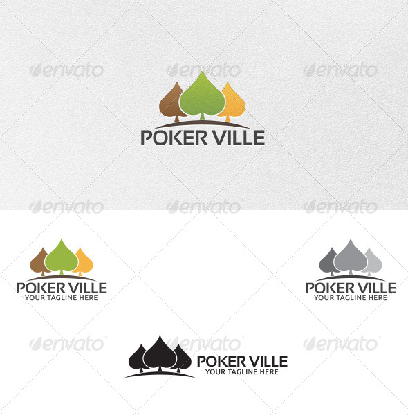 GraphicRiver Poker Ville Logo Template 5009900