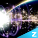 HD Pack Particle Light Warp Transition - VideoHive Item for Sale