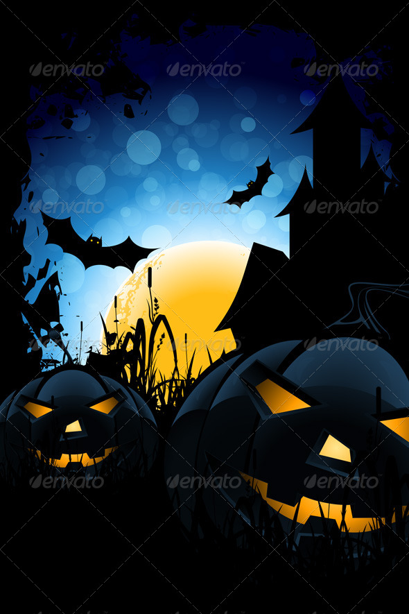 GraphicRiver Halloween Night 5011303