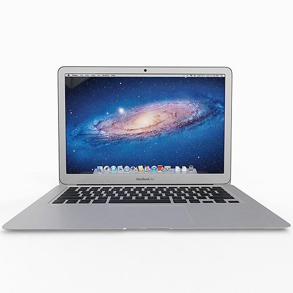3DOcean Apple Macbook Air 11 inch 5011483