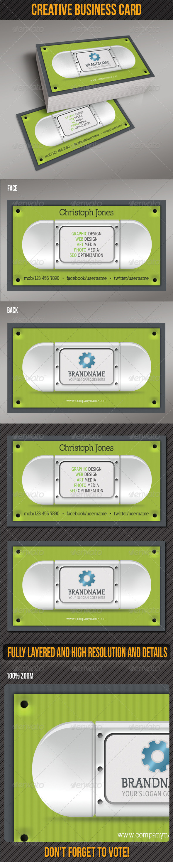 GraphicRiver Creative Business Card 5011484