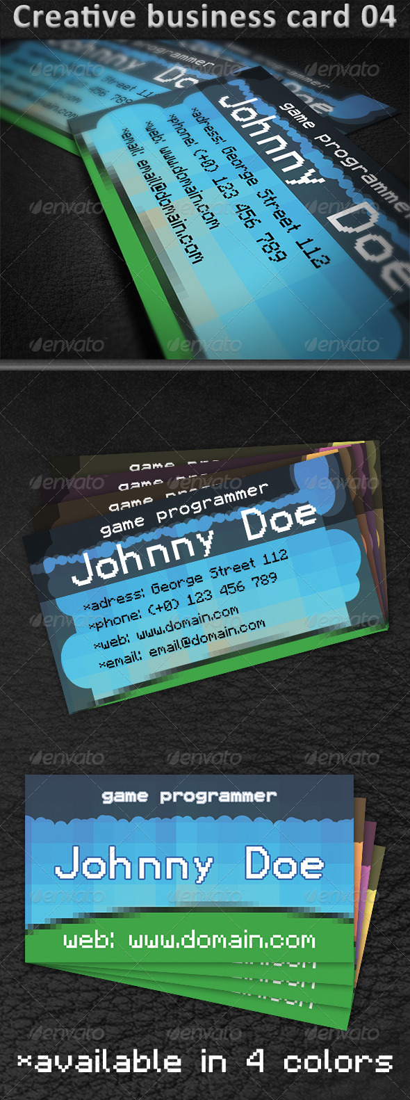 GraphicRiver Creative Business Card 04 5011502
