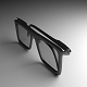 Eye Glasses Version 1 (High-Poly)