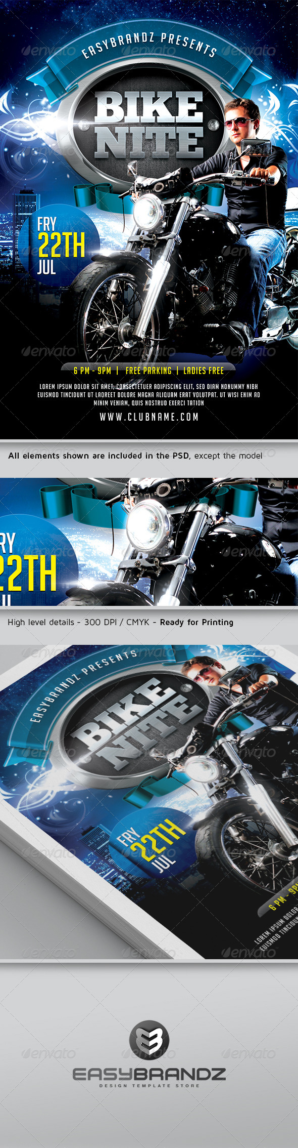 Car And Bike Show Flyer Template Save Our Oceans - Car and bike show flyer template