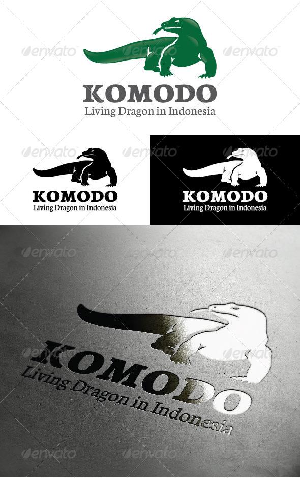 GraphicRiver Komodo Dragon Logo 4996753