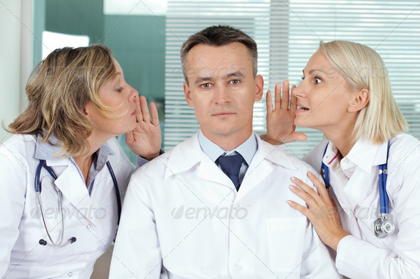 Gossip - Stock Photo - Images
