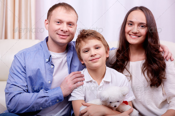 Family at leisure - Stock Photo - Images