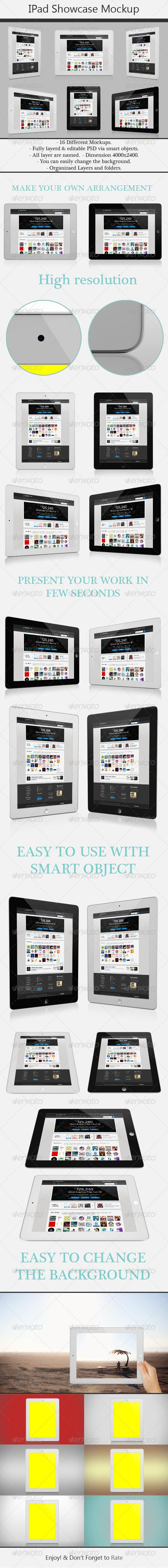 GraphicRiver Responsive Tablet Mockup 5013895