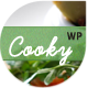 Cooky Restaurant Responsive WordPress Theme  Free Download