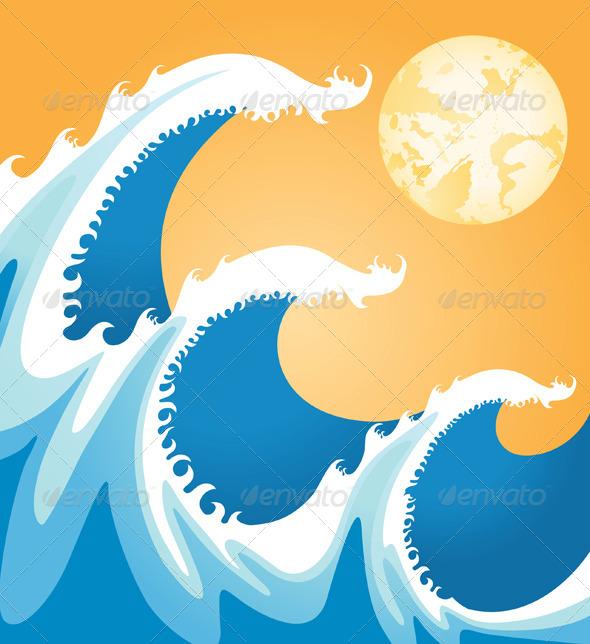 GraphicRiver Sea Landscape 5016290