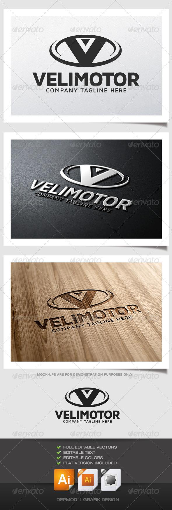 Velimotor Logo - Letters Logo Templates
